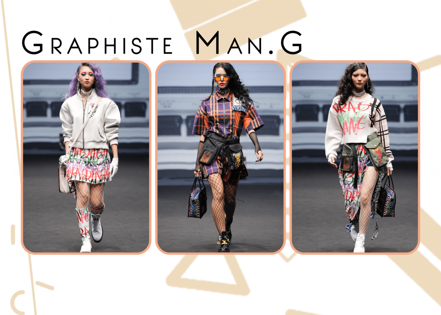 Fii's favourite outfits from GRAPHISTE MAN.G collection