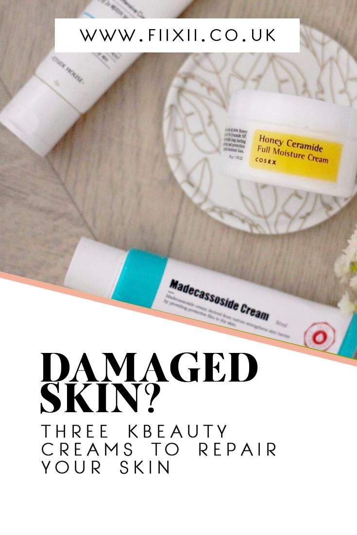 3 #kbeauty creams to repair damaged skin barrier - fiixii