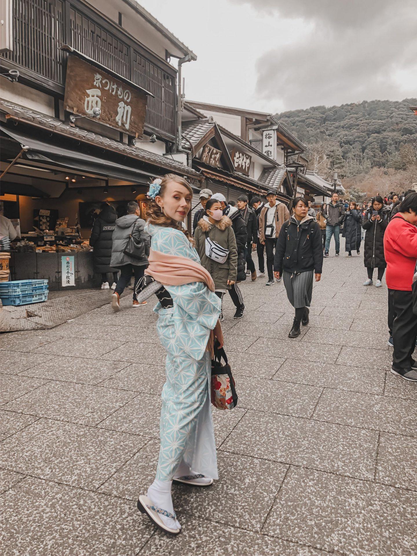 fiixii fashion blogger wearing kimono