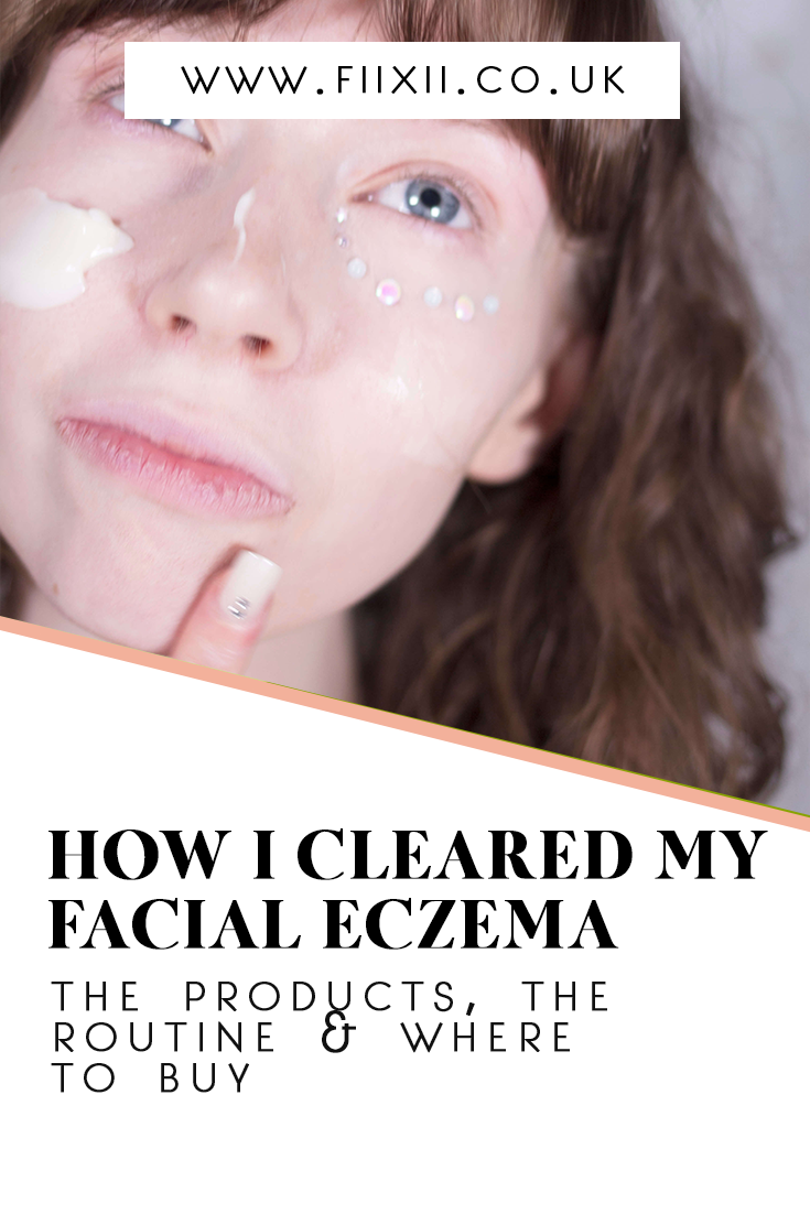how to clear facial eczema pin for later