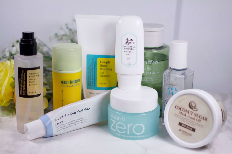 fiixii kbeauty blogger current skincare routine clear facial eczema