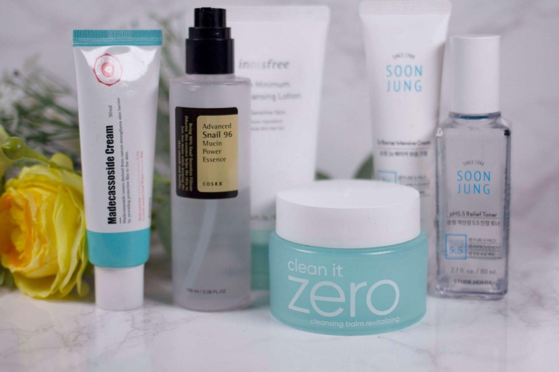 fiixii skincare routine to clear facial eczema