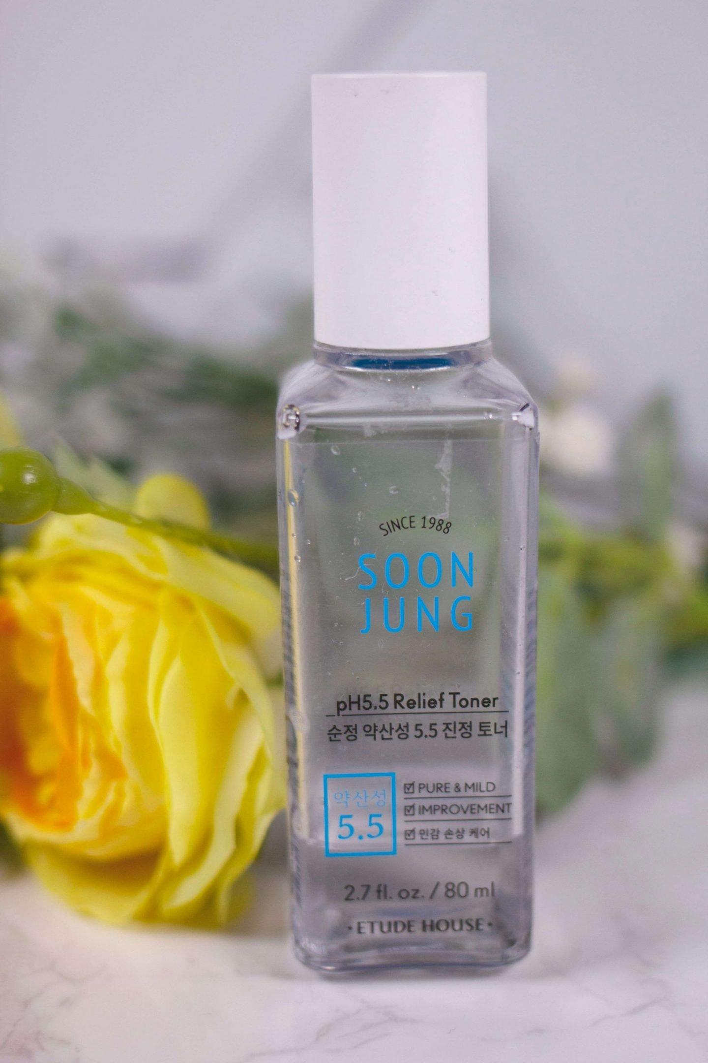 etude house soonjung pH 5.5 relief toner