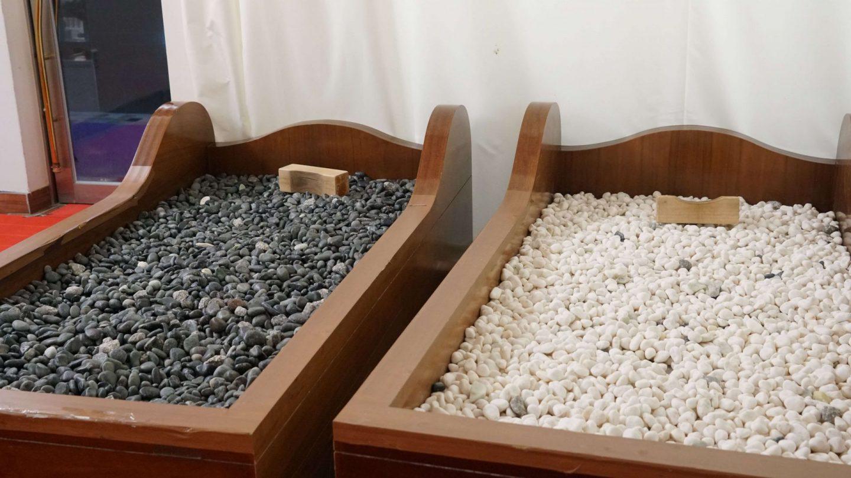 stone therapy at jinan red ginseng spa