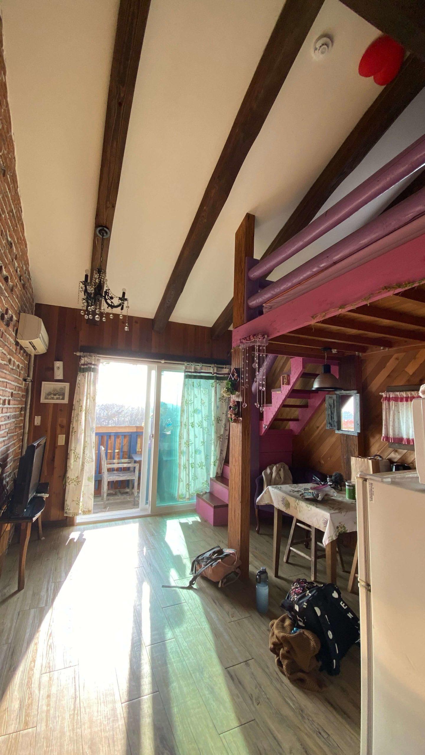 Tea Tree Room at Farm Kamille in TaeAn south Korea